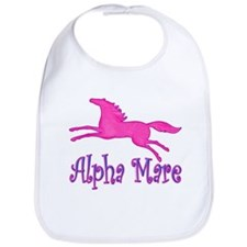 Alpha Mare, cute & playful Bib