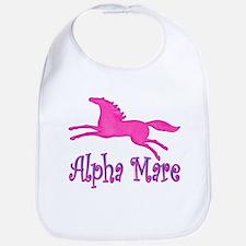 Alpha Mare, cute & playful Bib