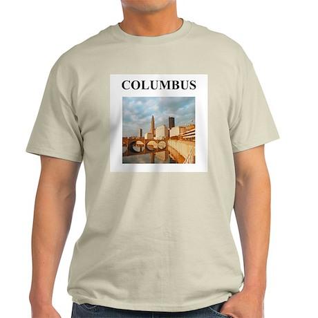 columbus gifts and t-shirts Light T-Shirt