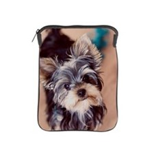 Portrait puppy iPad Sleeve