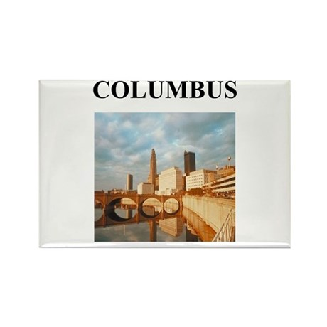 columbus gifts and t-shirts Rectangle Magnet (10 p