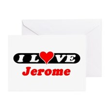 I Love Jerome Greeting Cards (Pk of 10)