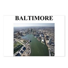 Funny Baltimore city Postcards (Package of 8)