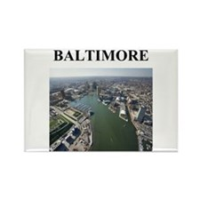 Funny Baltimore Rectangle Magnet (10 pack)