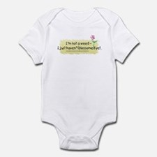 I'm not a weed Infant Bodysuit