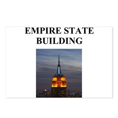 empire state building Postcards (Package of 8)