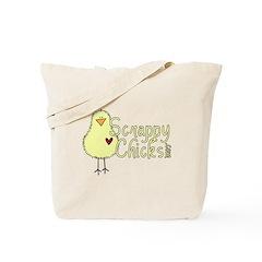 Scrappy Chicks 2 Tote Bag