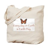 Earth day bag Canvas Bags