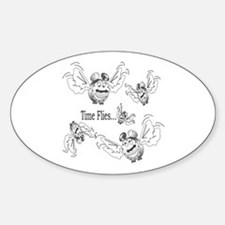 NEW! Oval Decal
