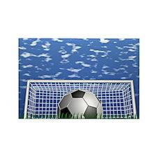 Soccer Time Rectangle Magnet