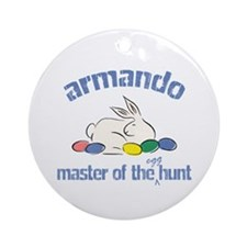 Easter Egg Hunt - Armando Ornament (Round)