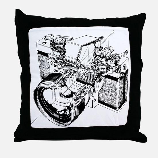 Topcon Cutaway Throw Pillow