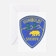 Humboldt County Sheriff Greeting Cards (Package of