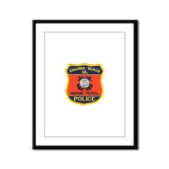 Virginia Beach Marine Patrol Framed Panel Print