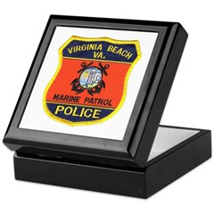 Virginia Beach Marine Patrol Keepsake Box