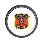 Virginia Beach Marine Patrol Wall Clock