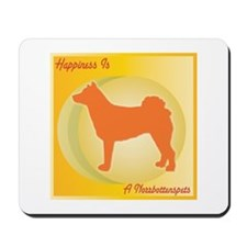 Norrbottenspets Happiness Mousepad