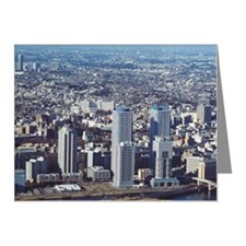 Cityscape Note Cards (Pk of 10)