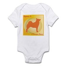 Buhund Happiness Infant Bodysuit