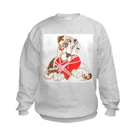 N Brdlqn Heartstrings Kids Sweatshirt