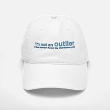 I'm not an outlier Baseball Baseball Cap