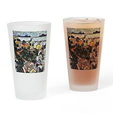 Schiele - Summer Landscape, Krumau Drinking Glass