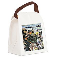 Schiele - Summer Landscape, Kruma Canvas Lunch Bag