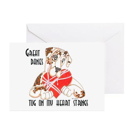 N Brdlqn Tug Greeting Cards (Pk of 10)