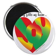 Singing fills my heart with joy Magnet