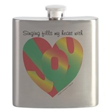 Singing fills my heart with joy Flask