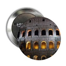 """Most famous monument in Rome, Italy. 2.25"""" Button"""