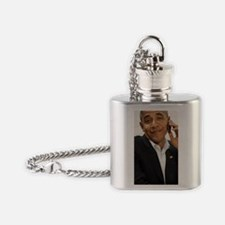Obama phone Flask Necklace