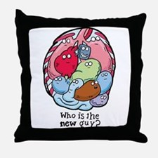 Pacemaker Humor Throw Pillow
