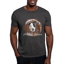 Piebald Porter Vintage Dark T-Shirt
