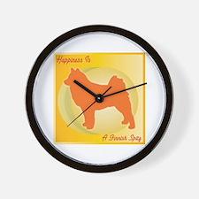 Spitz Happiness Wall Clock