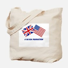 A UK/USA Production Tote Bag