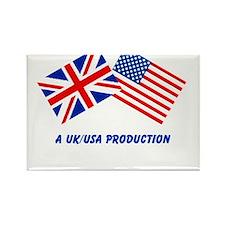 A UK/USA Production Rectangle Magnet