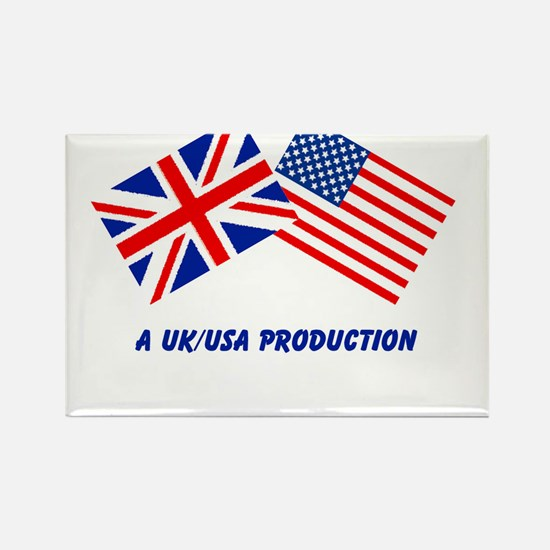 A UK/USA Production Rectangle Magnet