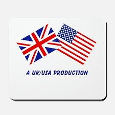 A UK/USA Production Mousepad
