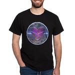 Psychedelic Heart Dark T-Shirt