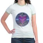Psychedelic Heart Jr. Ringer T-Shirt