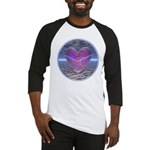 Psychedelic Heart Baseball Jersey