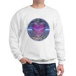 Psychedelic Heart Sweatshirt