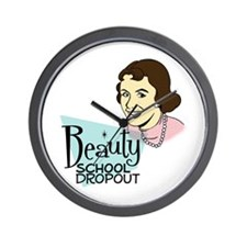 Beauty School Dropout Wall Clock