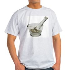 Mortar and pestle with herbs T-Shirt