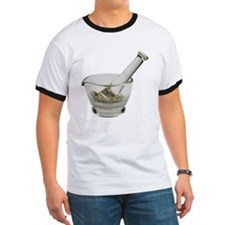 Mortar and pestle with herbs T