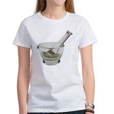Mortar and pestle with herbs Tee