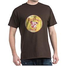 Red Nose Red Vintage Dark T-Shirt