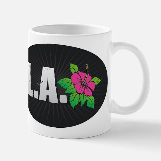 L.A. Hibiscus Mugs
