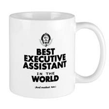 The Best in the World – Executive Assistant Mugs